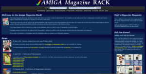 Amiga Magazine Rack