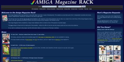 Amiga Magazine Rack
