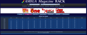 Amiga Magazine Rack The One