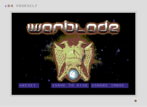 C64 Yourself Warblade