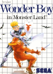 Wonderboy in Monster Land cover