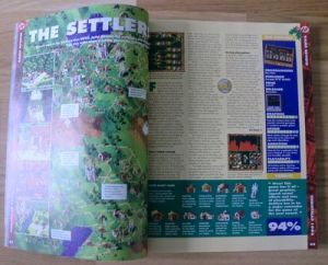 Review of The Settlers from Amiga Format