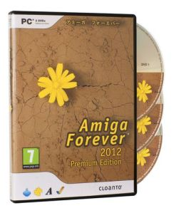 The Amiga Forever 2012 Box