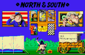 The main menu (screenshot by Old School Game Blog)