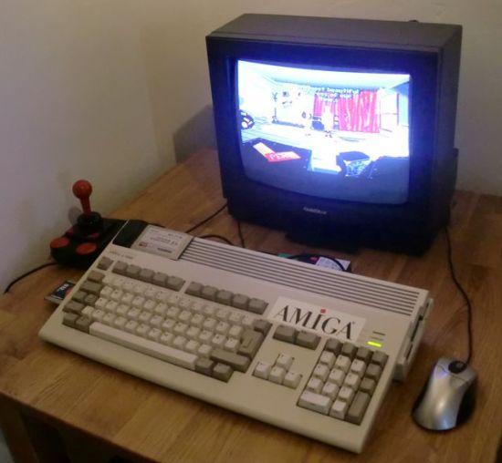 My Amiga 1200 setup