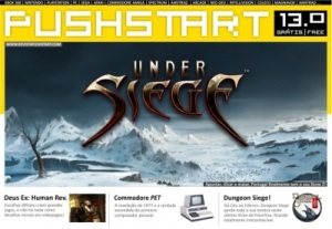 Revista PUSHSTART cover (snapshot by Old School Game Blog)