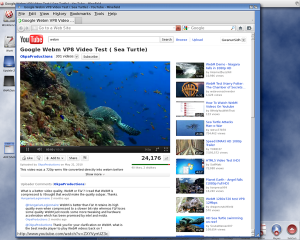 YouTube on Timberwolf (image from Amigabounty.net)