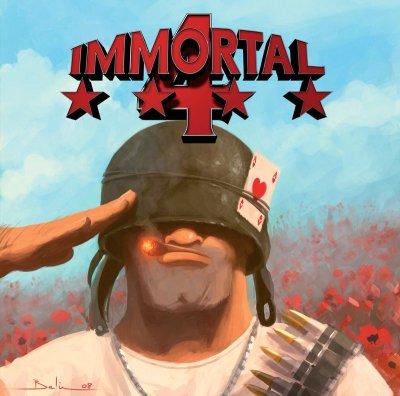 The CD-cover from Immortal 4 (taken from http://www.vesalia.de/e_immortal4.htm)