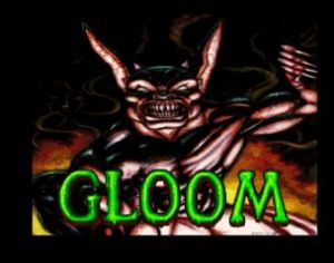 Gloom for the Amiga (screenshot by Old School Game Blog)