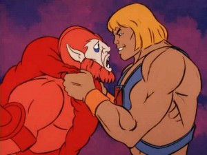 This means trouble for Beast Man.. (taken from http://www.cartoonscrapbook.com/l-p/001/he-man_L19.htm)