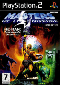 Experience He-Man in full 3D on the Playstation 2 (cover scan taken from http://wproducoesxtx.blogspot.com/2011/06/he-man-ps2.html)