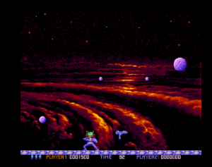Gameplay (screenshot by Old School Game Blog)