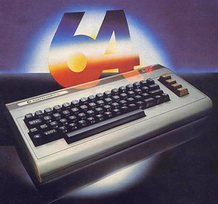 The Commodore 64 (taken from http://laboca.co.uk/blog/tag/commodore-64/)