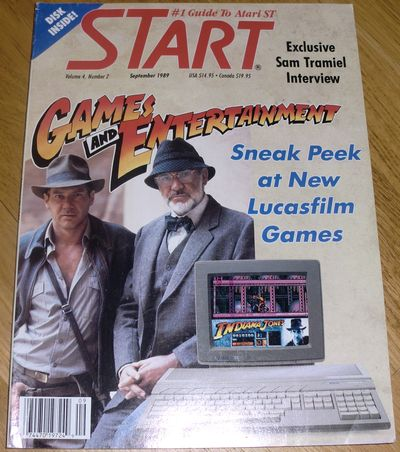 Sneak peak at new Lucasfilm games.. awesome! (photo by Old School Game Blog)
