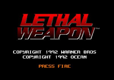 Lethal Weapon (screenshot by Old School Game Blog)