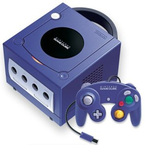 The Nintendo Gamecube (photo taken from http://www.nikbull.co.uk/Angeldust/Nintendo.htm)
