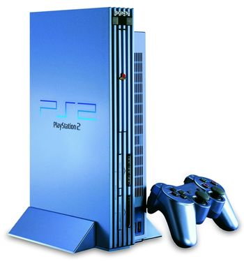 The Playstation 2 (taken from http://thevideogamesystems.blogspot.com/2011/06/popular-playstation-2.html)