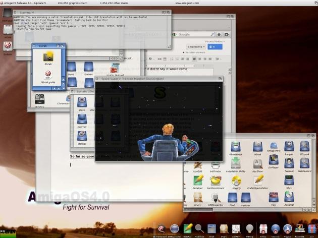 Screenshot by AmigaNG