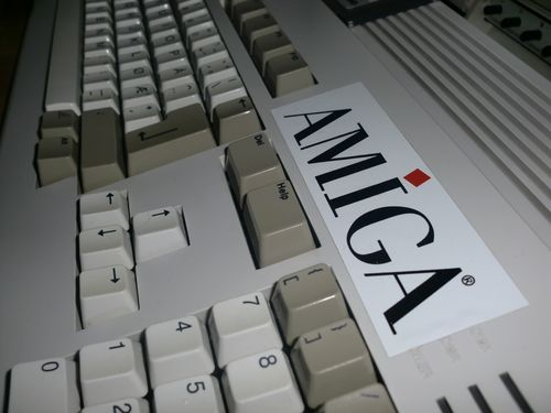 My Amiga 1200 (photo by Old School Game Blog)