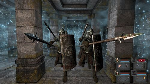 Monsters attacking (taken from http://www.grimrock.net/media/)