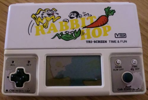 Rabbit Hop by V-Tech (photo by Old School Game Blog)