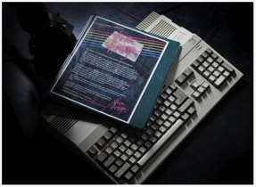The Viva Amiga script (photo taken from http://www.amigafilm.com/Site/Production_Stills_%26_Notes.html)