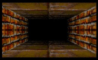 Doom-like maze (screenshot by Old School Game Blog)