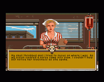 A screenshot from It Came from the Desert (screenshot taken from http://hobring.esero.net/gamesscreens_gl.htm)