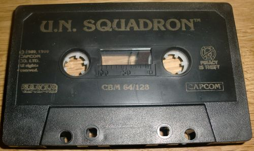 Hey, it's a tape! (photo by Old School Game Blog)