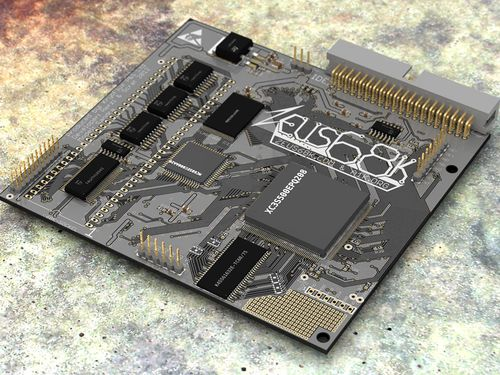 Zeus68k: New Accelerator for Amiga 500/2000/CDTV (1/6)