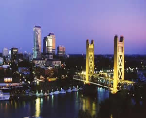 The city of Sacramento (taken from http://www.aboutnevadacounty.com/neighbors/sacramento/)