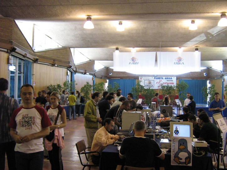 A photo from one of the previous events (taken from http://www.powerdeveloper.org/forums/viewtopic.php?t=1379)