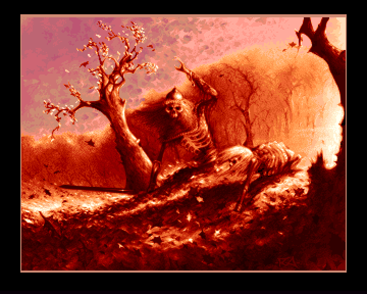 A picture from the demo. Neat! (picture taken from Classicamiga.com)