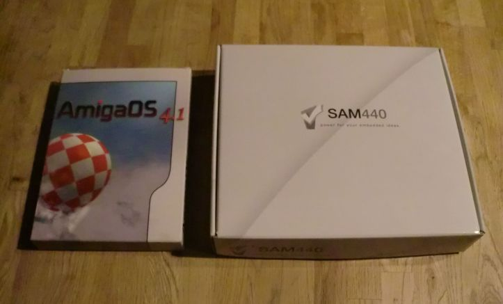 SAM 440EP-Flex and AmigaOS 4.1