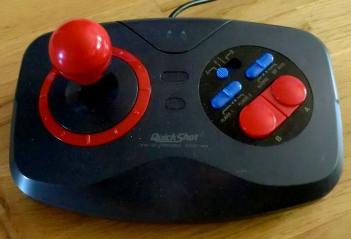 This is one of my favourite joysticks. Gives you the edge you need in games like Silkworm for example. Love it!