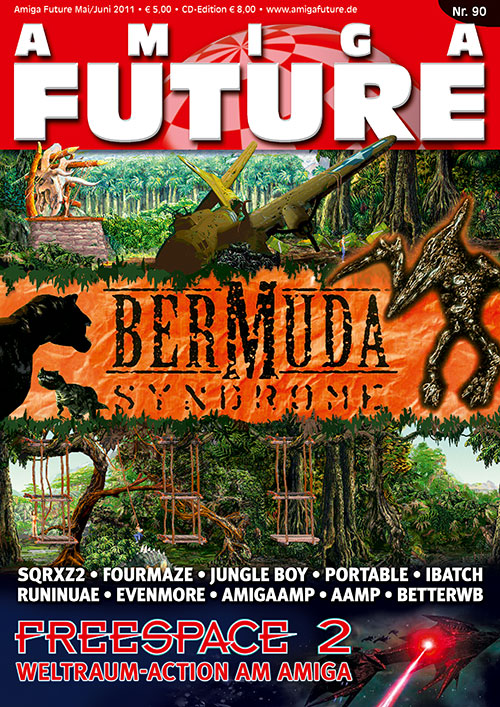 Issue 90 of Amiga Future