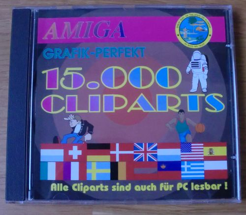 15.000 clip-arts. Do I need to say more? Useful for DTP, as well as various programming projects one lacks graphics for. ;)