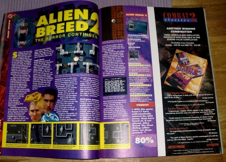 Review of Alien Breed 2 (photo by Old School Game Blog)