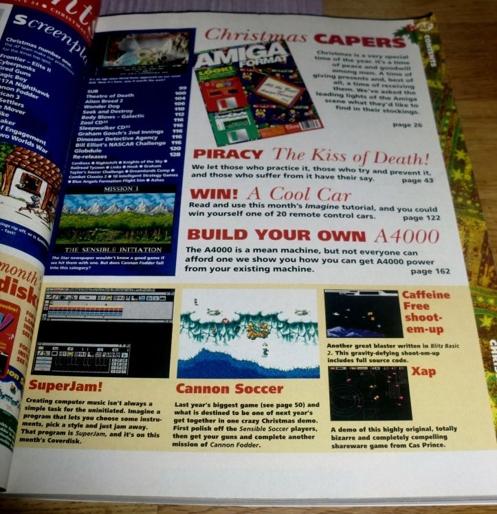 Close-up of contents (photo by Old School Game Blog)