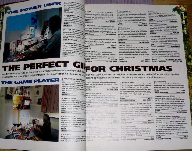 Great ideas for Christmas gifts, both for the gamer and the power user! (photo by Old School Game Blog)