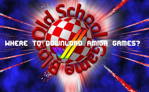 Where to download Amiga games? (logo by The Heretic)