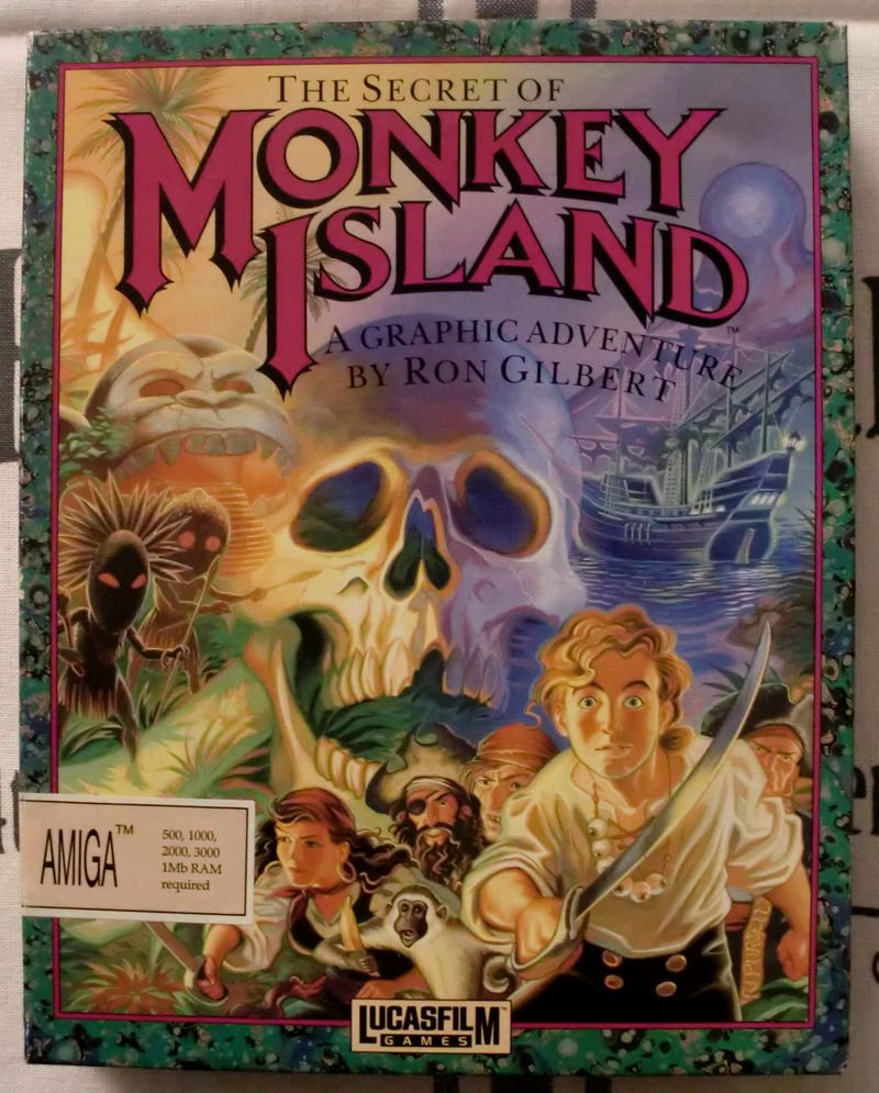 My Retro-gaming Collection: The Secret of Monkey Island (Amiga) (1/4)