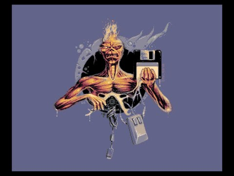 Iron Maiden music disk on the Amiga