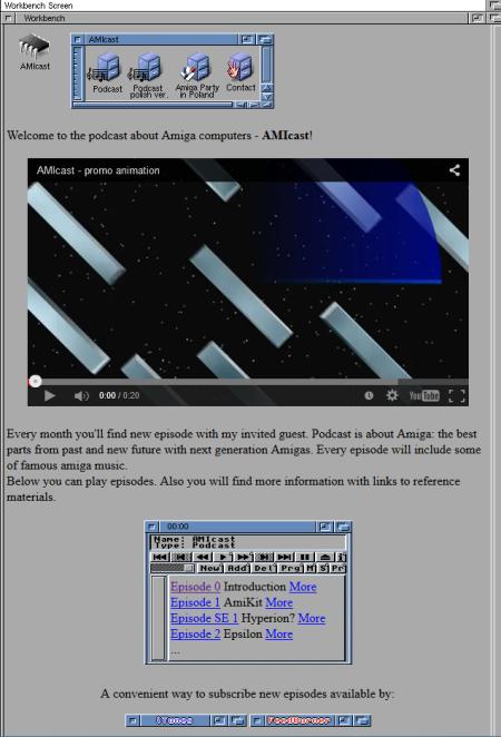 AMIcast - New Amiga podcast!