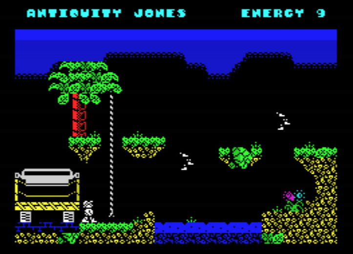 Antiquity Jones (screenshot by Old School Game Blog)