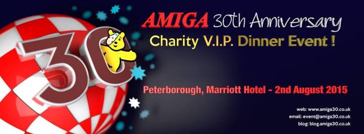 Amiga Charity Event (picture taken from Amigans.net)
