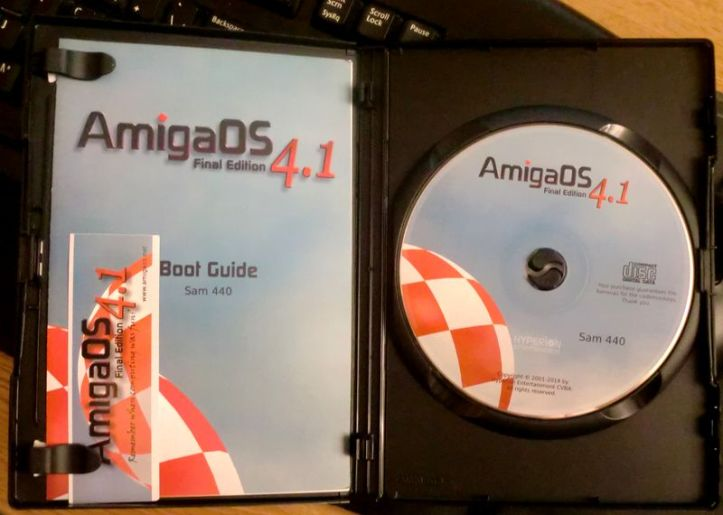 AmigaOS 4.1 Final Edition (photo by Old School Game Blog)