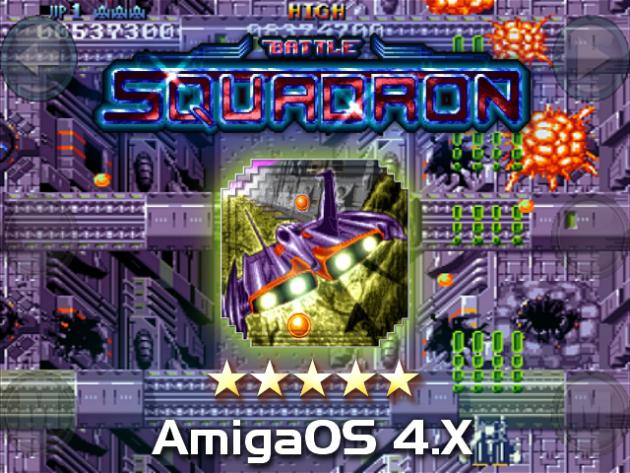 Battle Squadron on AmigaOS 4