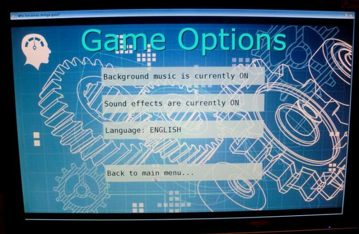 More options! (screenshot by Old School Game Blog)