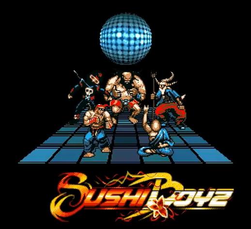 Revision 2015: Sushi Boyz by Ghostown (Amiga Demo) (1/2)